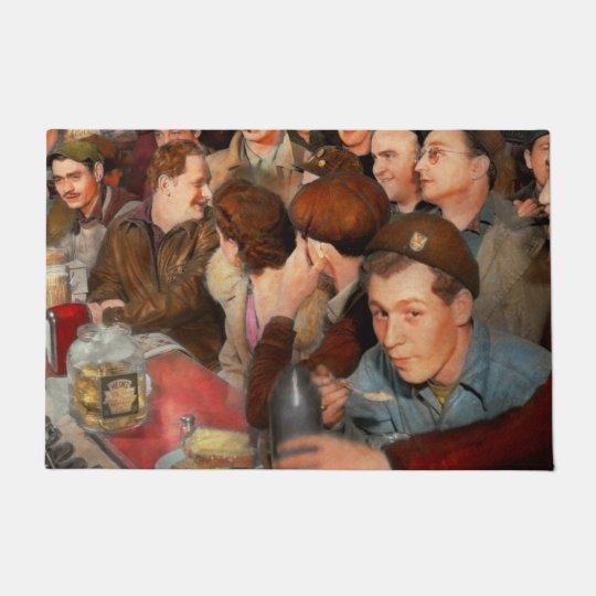 Cafe - Midnight Munchies 1943 Doormat