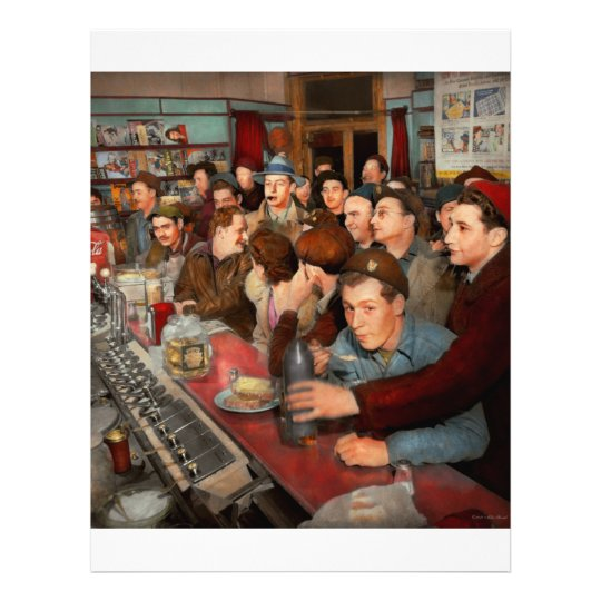 Cafe - Midnight Munchies 1943 Flyer