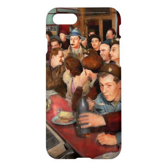 Cafe - Midnight Munchies 1943 iPhone 8/7 Case