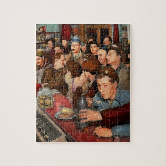 Cafe - Midnight Munchies 1943 Jigsaw Puzzle