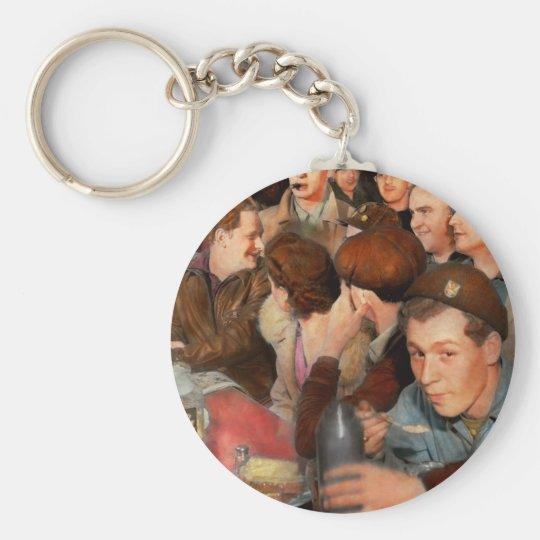 Cafe - Midnight Munchies 1943 Key Ring