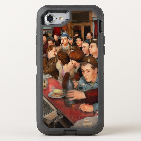 Cafe - Midnight Munchies 1943 OtterBox Defender iPhone 8/7 Case