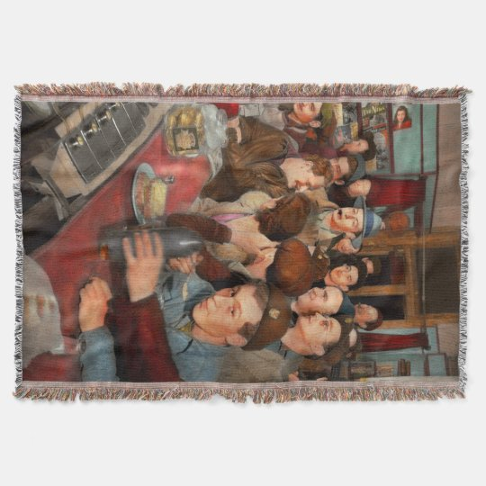 Cafe - Midnight Munchies 1943 Throw Blanket