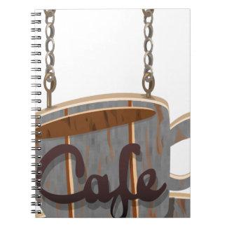 cafe notebook