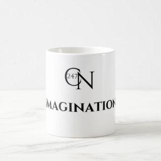 Café Novela Imagination White 11 oz Classic Mug
