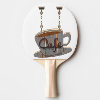 cafe ping pong paddle