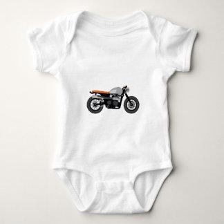 Cafe Racer / Brat Bike Motorcycle Baby Bodysuit