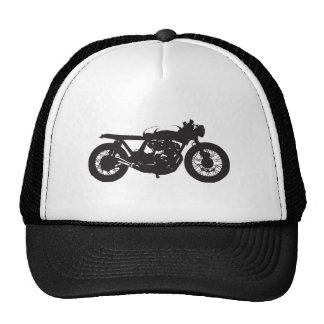 Cafe Racer / Brat Motorcycle Vintage Cool Stencil Cap