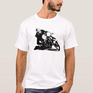 cafe racer t shirts shirt designs zazzle au Norton Cafe Racer cafe racer motorcycle t shirt