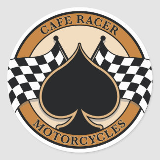 Cafe Racer Number Stickers
