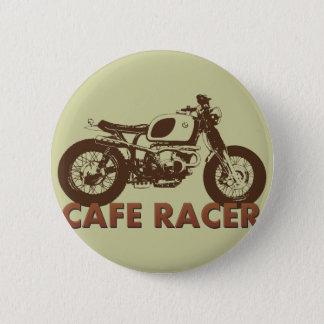 Cafe Racer Vintage 6 Cm Round Badge