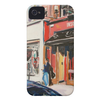 cafe stephens green dublin iPhone 4 Case-Mate case
