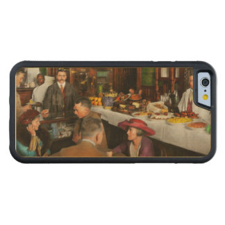Cafe - Temptations 1915 Carved Maple iPhone 6 Bumper Case