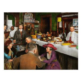 Cafe - Temptations 1915 Flyer