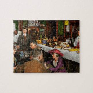 Cafe - Temptations 1915 Jigsaw Puzzle