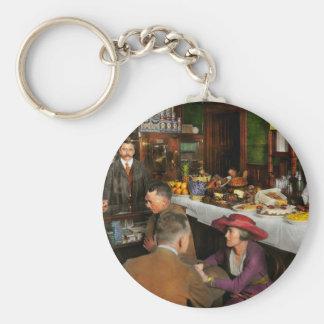 Cafe - Temptations 1915 Key Ring