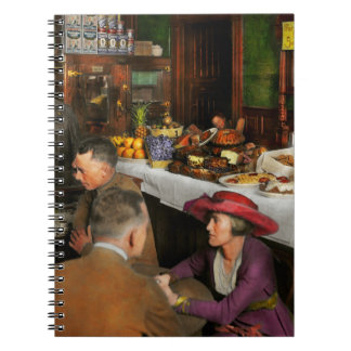 Cafe - Temptations 1915 Notebook
