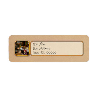 Cafe - Temptations 1915 Return Address Label