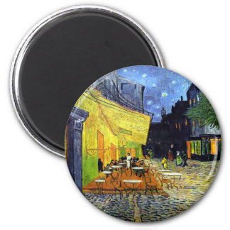 Cafe Terrace at Night by Vincent van Gogh 1888 Fridge Magnets