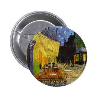 Cafe Terrace at Night Van Gogh 6 Cm Round Badge