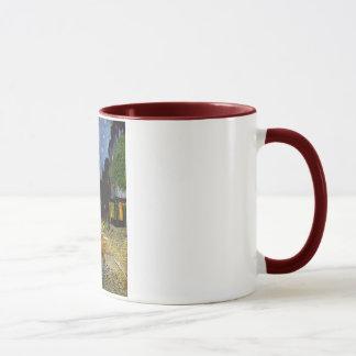 cafe terrace mug
