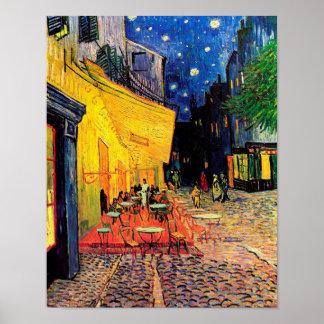 Cafe Terrace Place du Forum Van Gogh Fine Art Poster