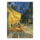 Cafe Terrace - Vincent van Gogh Card