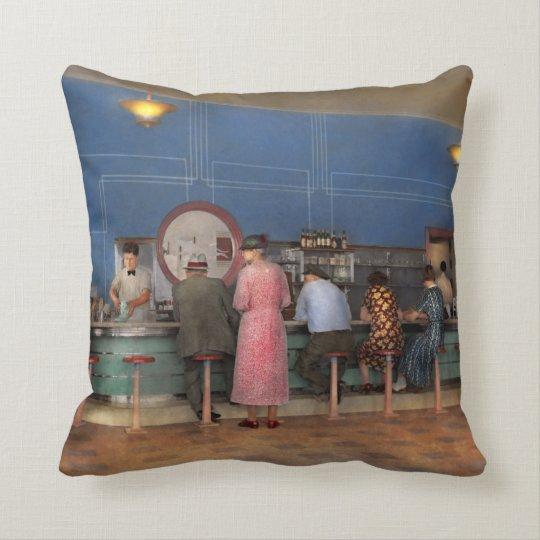 Cafe - The half way point 1938 Cushion