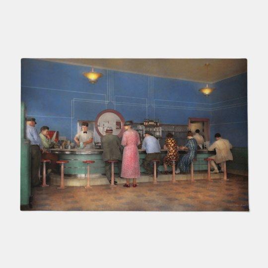 Cafe - The half way point 1938 Doormat