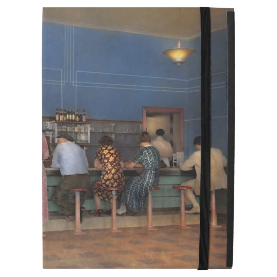 "Cafe - The half way point 1938 iPad Pro 12.9"" Case"