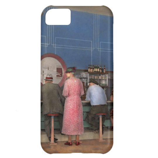 Cafe - The half way point 1938 iPhone 5C Case