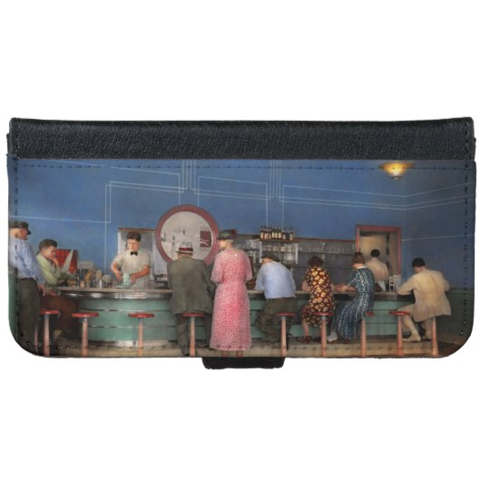 Cafe - The half way point 1938 iPhone 6 Wallet Case