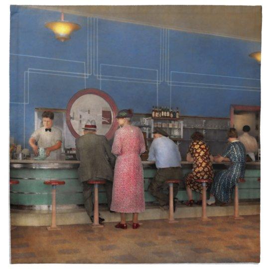 Cafe - The half way point 1938 Napkin