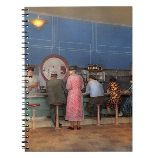 Cafe - The half way point 1938 Notebook