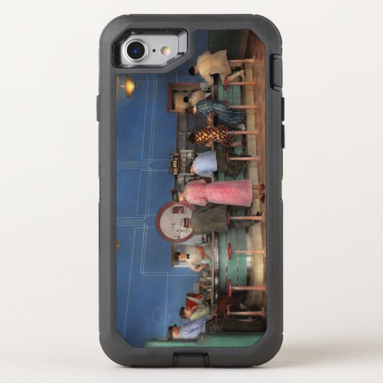 Cafe - The half way point 1938 OtterBox Defender iPhone 8/7 Case