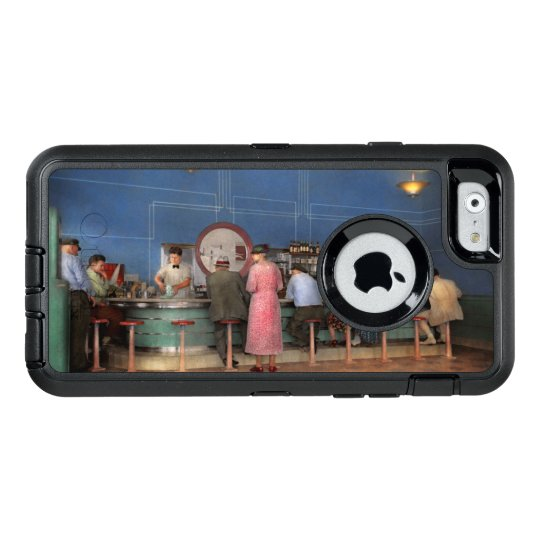 Cafe - The half way point 1938 OtterBox Defender iPhone Case