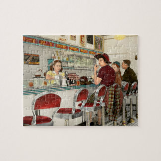Cafe - The local hangout 1941 Jigsaw Puzzle