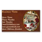 Cafe - The local hangout 1941 Magnetic Business Card