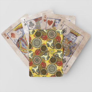 Cafe Time Bicycle Playing Cards