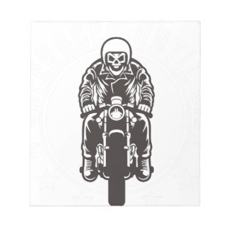 Caferacer Until Die Notepad
