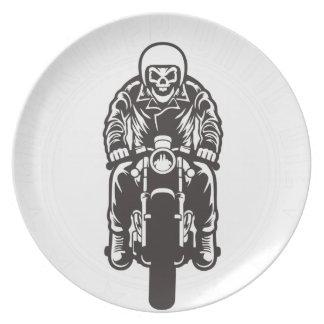 Caferacer Until Die Plate