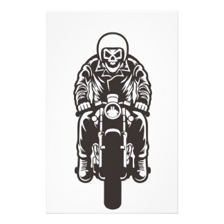 Caferacer Until Die Stationery