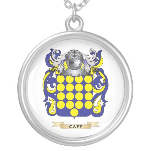 Caff Coat of Arms (Family Crest) Pendants
