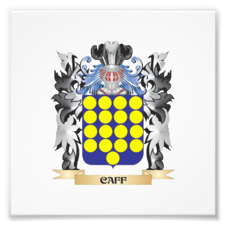 Caff Coat of Arms - Family Crest Photograph