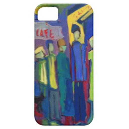 Caffe Crowd iPhone 5 Covers