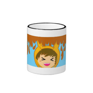 Caffe cup ringer mug