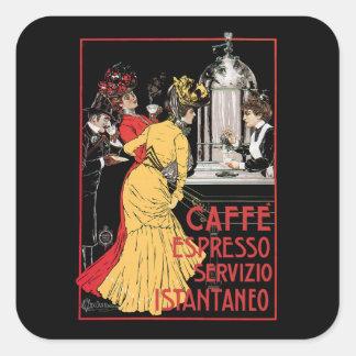 Caffe Espresso Square Sticker