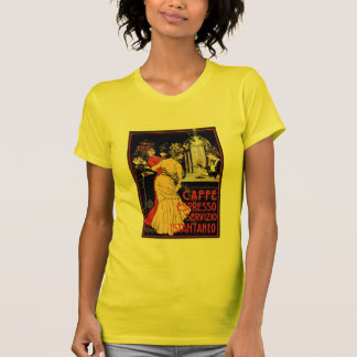 Caffe Espresso Vintage Coffee Drink Ad Art T-Shirt
