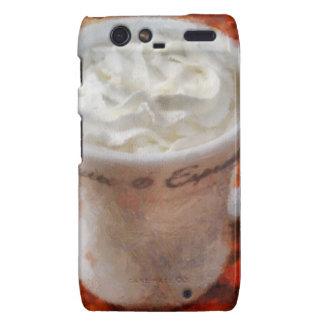 Caffe Latte Droid RAZR Cases