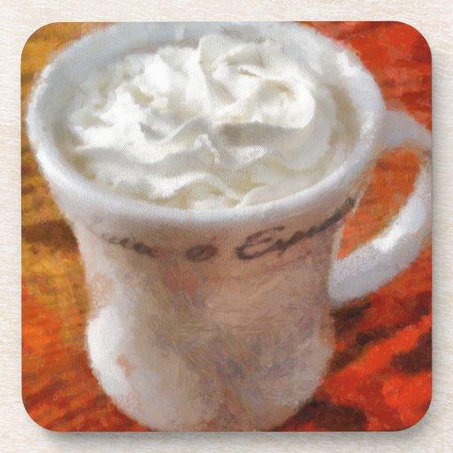 Caffe Latte Drink Coaster